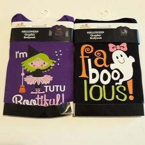 Other - Halloween 12m girls long sleeve ones…